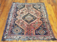 Load image into Gallery viewer, Hand knotted wool Rug 156114 size  156 x 114 cm Iran