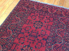 Load image into Gallery viewer, Hand knotted wool Rug 9014 size 152 x 98 cm Afghanistan