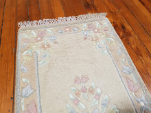 Load image into Gallery viewer, Hand knotted wool Rug 5095 size 140 x 70 cm India