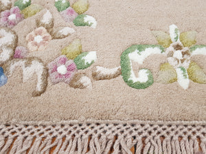 hand knotted wool Rug 5 size  160 x 90 cm India