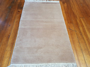 hand knotted wool Rug 1245 size 159 x 93 cm Nepal