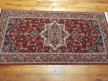 Load image into Gallery viewer, 100% wool Kashqai  4354 300 size  80 x 160 cm Belgium