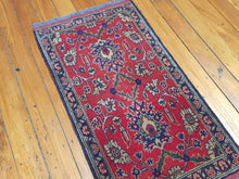 Load image into Gallery viewer, Hand knotted wool Rug 17 size 100 x 50 cm Afghanistan