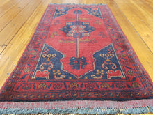 Load image into Gallery viewer, Hand knotted wool Rug 15 size 91 x 50 cm Afghanistan