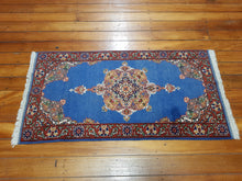 Load image into Gallery viewer, Hand knotted wool Rug 12064 size 120 x 64 cm Afghanistan
