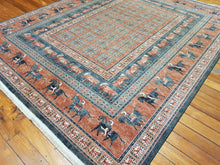 Load image into Gallery viewer, 100% wool  Kashqai 4301 500 size  300 x 240 cm Belgium