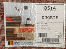 Load image into Gallery viewer, 100% pure  wool Djobie 5422 301 size 170 x 235 cm Belgium