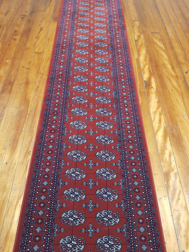 All wool super heavy duty Rug Hall and Stair Runner Diamond 72212 330 size  85 x 250 cm