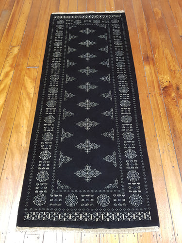 Hand knotted wool Rug 15 size 199 x 79 cm Pakistan