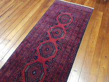 Load image into Gallery viewer, Hand knotted wool Rug 27 size 294 x 80 cm Afghanistan