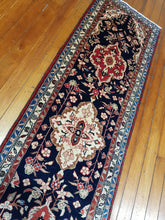 Load image into Gallery viewer, Hand knotted wool Rug 23080 size 312 x 78 cm Iran