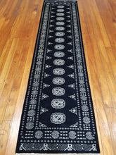 Load image into Gallery viewer, Hand knotted wool Rug  17 size 306 x 78 cm Pakistan