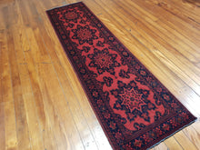 Load image into Gallery viewer, Hand knotted wool Rug 22 size 283 x 74 cm Afghanistan