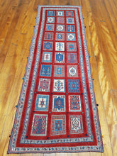Load image into Gallery viewer, Hand knotted wool Rug 1545 size 244 x 83 cm Iran