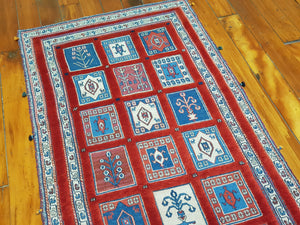 Hand knotted wool Rug 1545 size 244 x 83 cm Iran