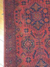 Load image into Gallery viewer, Hand knotted wool Rug 28 size  382 x 80 cm Afghanistan