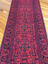 Load image into Gallery viewer, Hand knotted  wool  Rug 24 size 588 x 82 cm Afghanistan