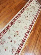 Load image into Gallery viewer, Hand knotted wool Rug 102 size 349 x 72 cm Afghanistan