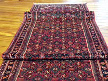 Load image into Gallery viewer, Hand knotted wool Rug  14408 size 590 x 90 cm Iran