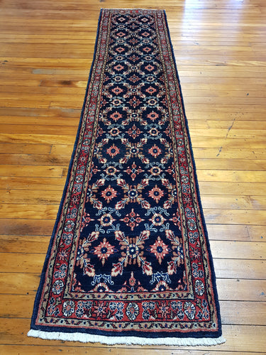 Hand knotted wool Rug 18105 size 364 x 76 cm Iran