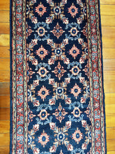 Load image into Gallery viewer, Hand knotted wool Rug 18105 size 364 x 76 cm Iran