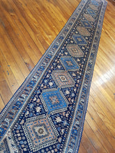 Load image into Gallery viewer, Hand knotted wool Rug 161 size  529 X 77 cm Iran