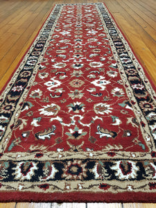 Hand tufted wool rug SQHT 51 size  300 x 80 cm India