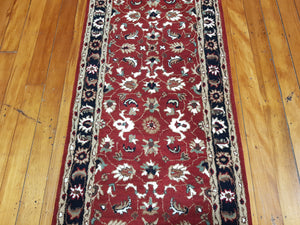 Hand tufted wool Rug SQHT 54 size 300 X 80 cm India