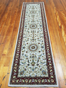 Hand tufted wool Rug  SQHT 56 size  300 x 80 cm India