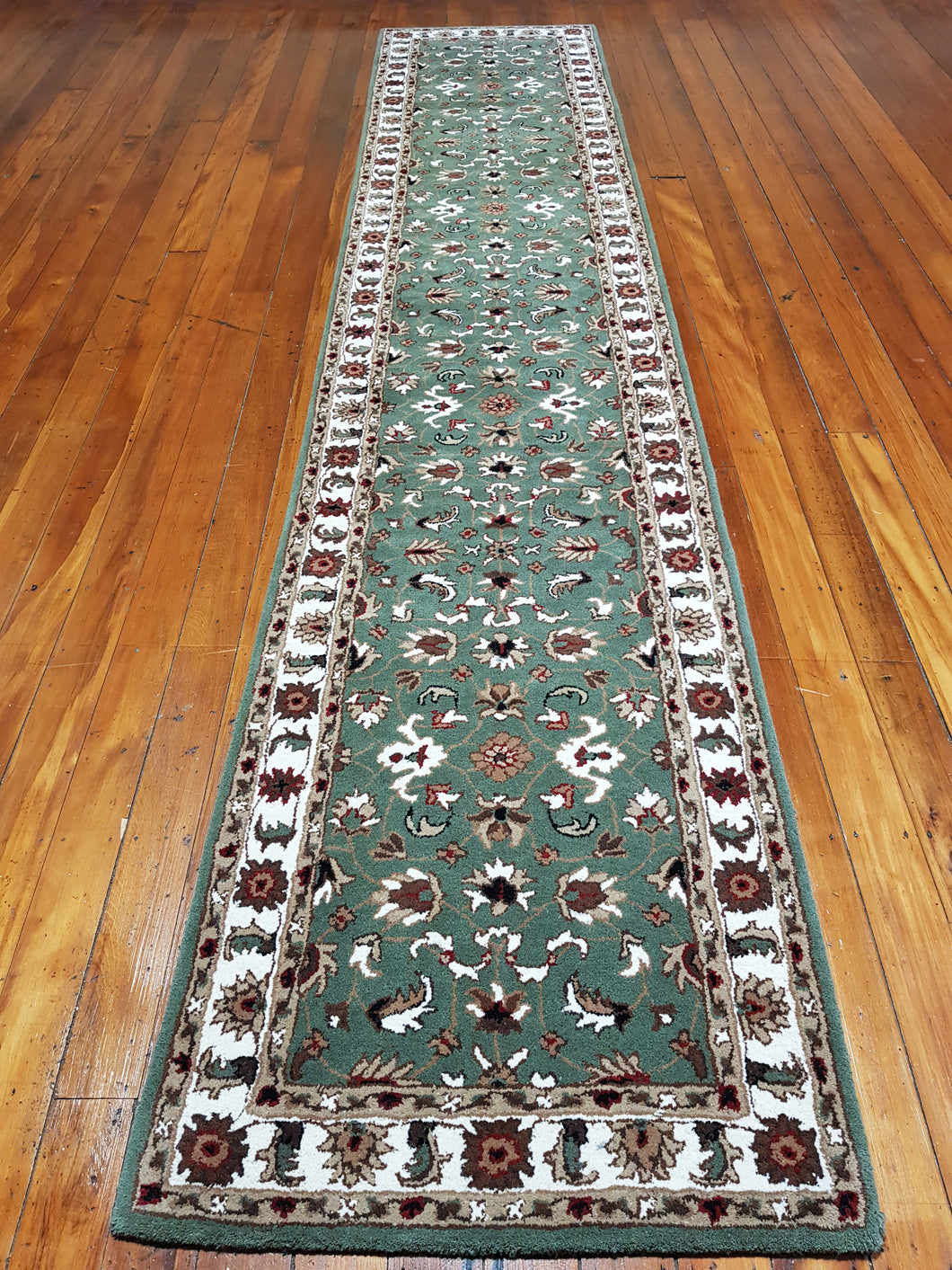 Hand tufted wool Rug SQHT 53 size 400 x 80 cm India