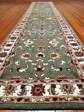 Load image into Gallery viewer, Hand tufted wool Rug SQHT 53 size 400 x 80 cm India