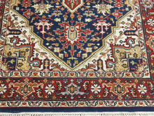 Load image into Gallery viewer, Hand knotted wool Rug 190118 size 190 x 118 cm Iran