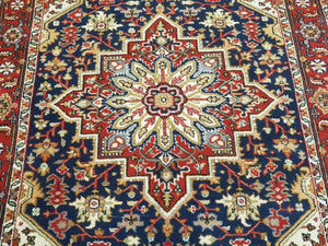Hand knotted wool Rug 190118 size 190 x 118 cm Iran