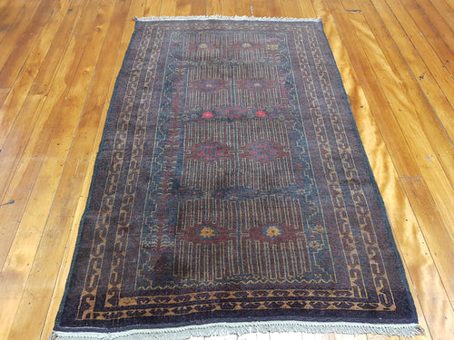 Hand knotted wool Rug 7675 182 x 119 cm Afghanistan