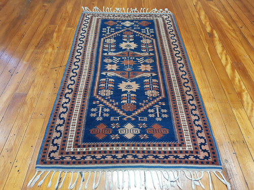 Hand knotted wool Rug 200115 size  200 x 115 cm Turkey