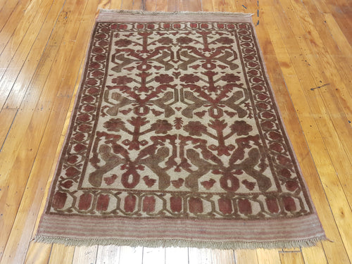 Hand knotted wool Rug 1122 size 200 x 100 cm approx Afghanistan
