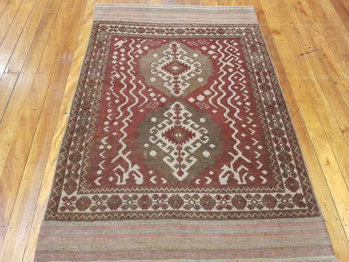 Hand knotted Rug 1104 size 130 x 186 cm Afghanistan