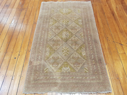 Hand knotted wool Rug 7242 size 175 x 104 cm Afghanistan