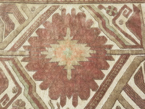 Hand knotted wool Rug 1121 size 100 x 200 cm Afghanistan