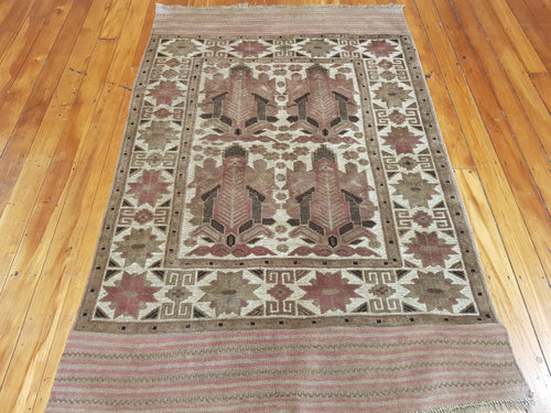 Hand knotted wool Rug 1147 size 200 x 100 cm Afghanistan