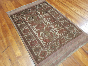 Hand knotted wool Rug 1125 size 125 x 183 cm Afghanistan