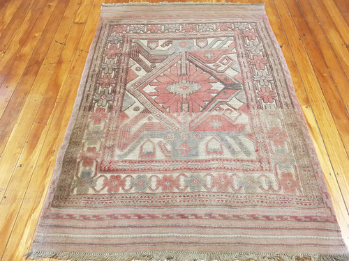 Hand knotted wool Rug 1149 size 100 x 200 cm Afghanistan