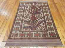 Load image into Gallery viewer, TEH 1111 Hand knotted wool Afghan Rug  191 x 120 CM