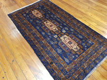 Load image into Gallery viewer, Hand knotted wool Rug 7677 size 200 x 100 cm Afghanistan