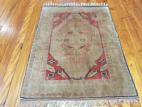 Hand knotted wool Rug 160107 size 160 x 107 cm Turkey