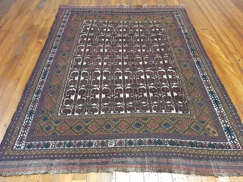 Hand knotted wool Rug  8007 size  272 x 202 cm Afghanistan