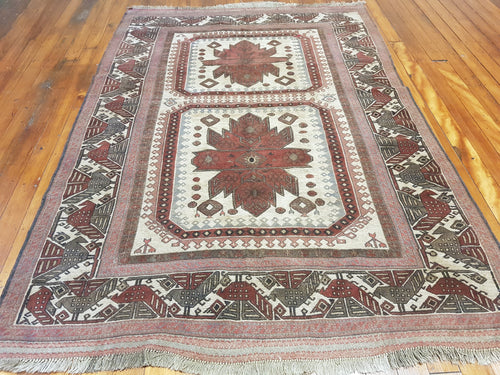 Hand knotted wool Rug 1091 size 268 x 190 cm Afghanistan