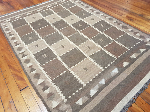 Hand knotted wool Rug 7189 size 278 x 192 cm Afghanistan