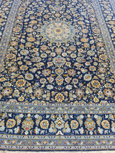 Load image into Gallery viewer, Hand knotted wool Rug 371270 size 371 x 270 cm Iran