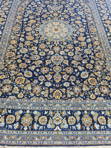 Hand knotted wool Rug 371270 size 371 x 270 cm Iran